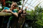 Primánky ve skleníku Fata Morgana – doprovodný program kpřírodovědné soutěži Zlatý list.