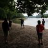 Relaxace na břehu jezera