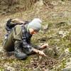 Hledání organismů na zemi
