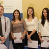 Finalisté (zleva): František Posolda, Anna Ryan, Csenge Dörner a Iva Lambová