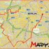 40 km po bývalém západním Berlímě